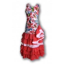 Vestido Flamenca Niña (Md.16680)